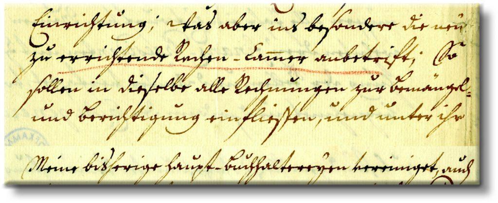Handschreiben 2