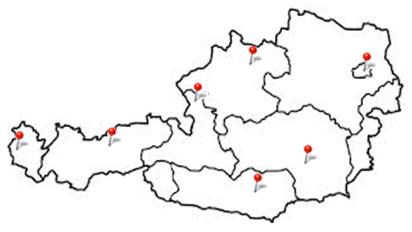 ARW Österreichkarte