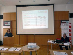 Andrea Kettinger führte gemeinsam mit Franz Hödl durch die Informationsveranstaltung