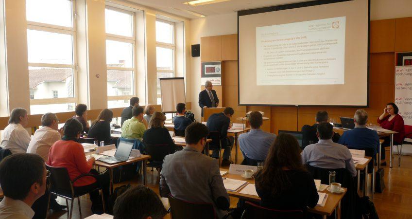 Teilnehmerinnen und Teilnehmer aus allen Bundesländern waren anwesend