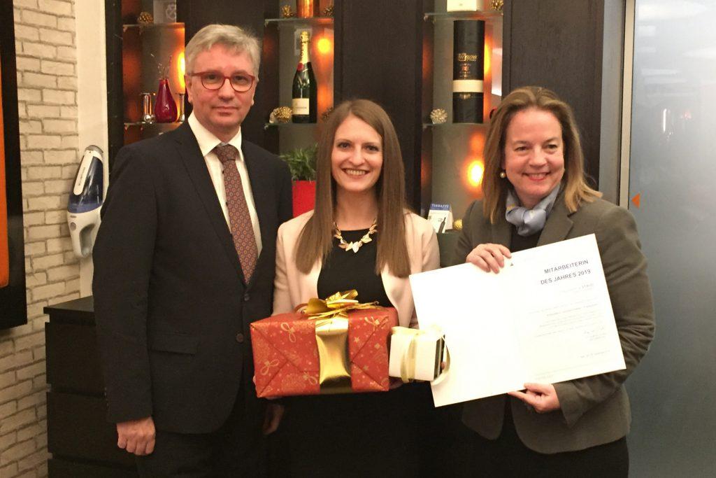 V.l.n.r.: Erich Maierhofer, Stefanie Staud und Angelika Schätz